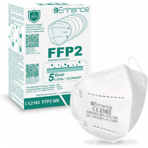 Enhance Respirátor FFP2 NR / KN95 10ks/bal