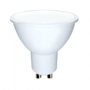 WE LED žárovka SMD2835 MR16 GU10 5W teplá bílá