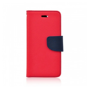 Fancy Book case Nokia 532 navy-red