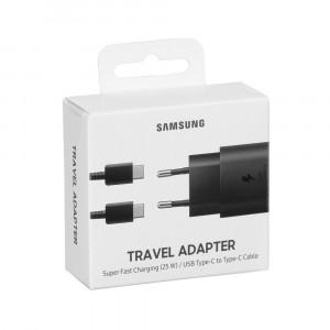 Samsung rýchlonabíjačka EP-TA800XBE (25W), USB-C, Black