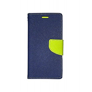 Fancy Book case Nokia 435 navy-lime