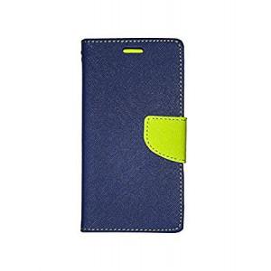 Bočné knižkové púzdro Nokia Lumia 535 navy/lime