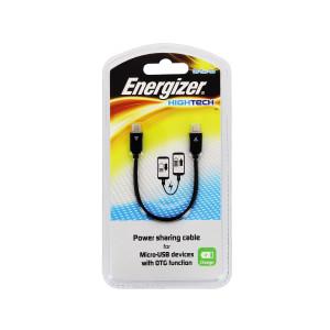 Nabíjací zdielací kábel micro USB Energizer