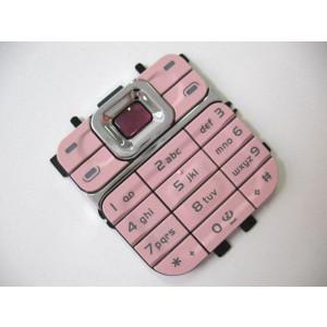 Nokia 7360 klávesnica (ružová)