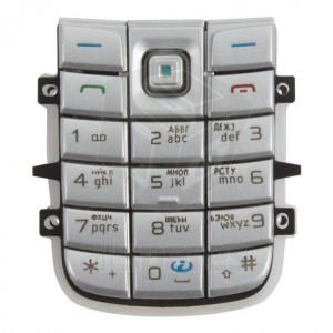 Nokia 6151 klávesnica (strieborná)