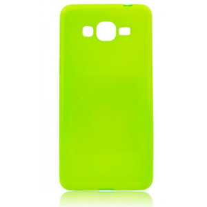 Jelly Case Flash Samsung Galaxy Xcover 3 neon green