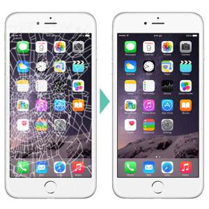 Výmena displeja a dotykovej plochy pre iPhone 5S čierny / biely