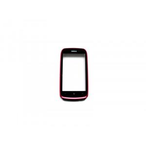 dotyková doska + predný kryt Nokia Lumia 610 Magenta