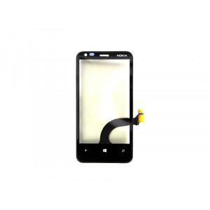 Dotyková doska + predný kryt Nokia Lumia 620 Black