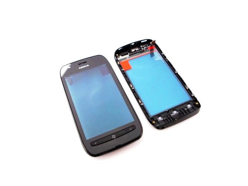 Dotyková doska + predný kryt Nokia Lumia 710 Black
