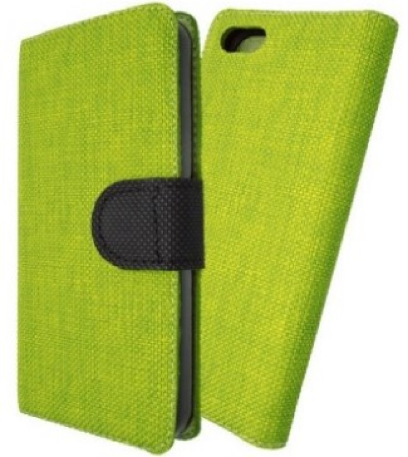 Magnet Book Case pre Huawei P8 lite green/black