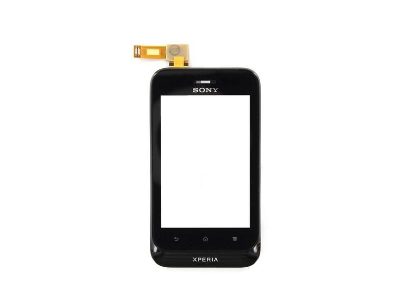 Dotyková plocha Sony Xperia Tipo Black ST21i