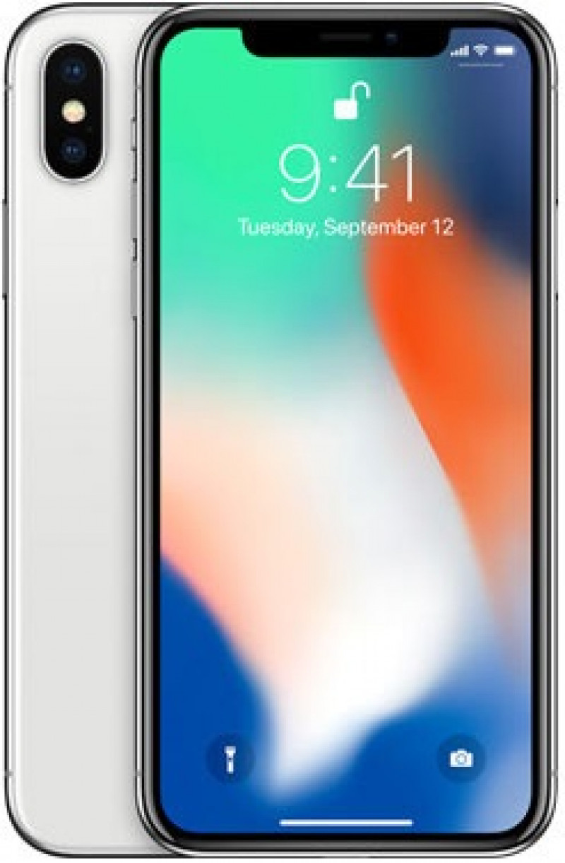Apple iPhone X 256GB Silver + Darček