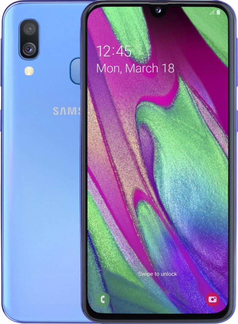 Samsung Galaxy A40 4GB/64GB Dual Sim Blue