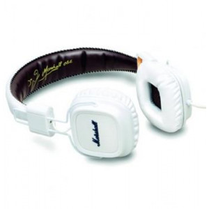 Marshall Major II Stereo Headset White