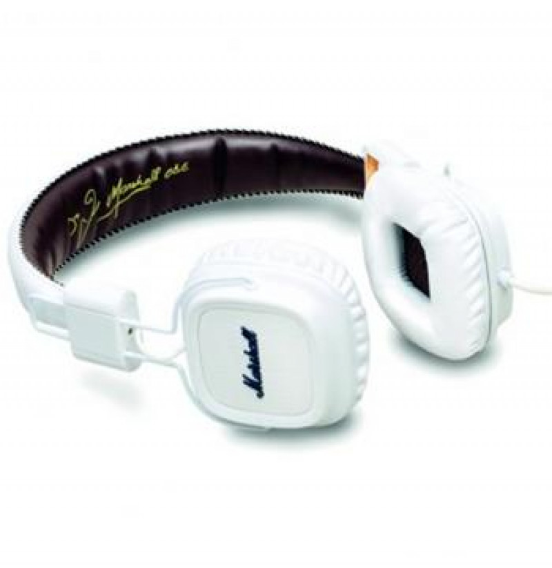 Marshall Major II Stereo Headset White