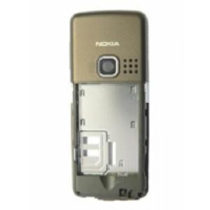 Nokia 6300 B cover stredný diel Choco