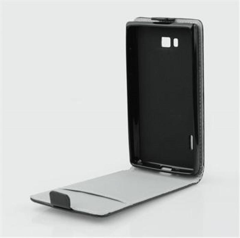 Forcell púzdro pre Lenovo A6000 black otváranie do dola