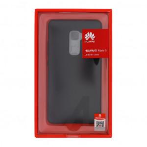 Huawei Original Kožený Zadný Kryt Black pre Mate S (EU Blister)