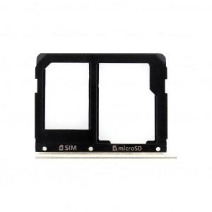 Samsung A510/A310 Galaxy A5/A3 2016 SIM/microSD Držák Black