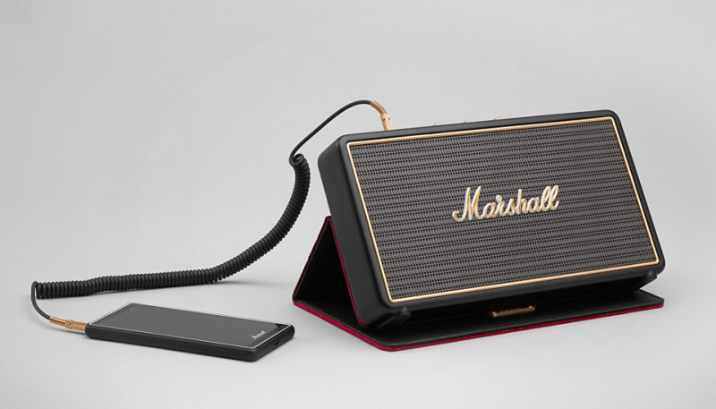 Marshall Stockwell Stereo Reprobedňa 27W RMS Black