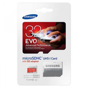 Samsung  microSDHC 32GB EVO Plus Class 10 vč. Adapteru (EU Blister)