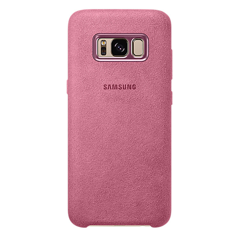 EF-XG950APE Samsung Alcantara Cover Pink pro G950 Galaxy S8 (EU Blister)