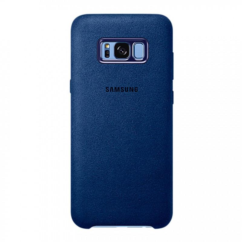 EF-XG955ALE Samsung Alcantara Cover Blue pro G955 Galaxy S8 Plus (EU Blister)