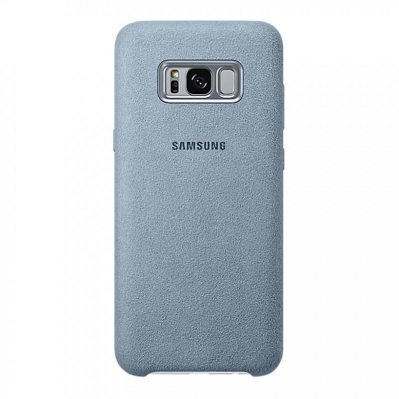 EF-XG955AME Samsung Alcantara Cover Mint pro G955 Galaxy S8 Plus (EU Blister)