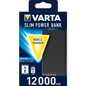 VARTA Power Bank Dual Type C SLIM 12000mAh (EU Blister)
