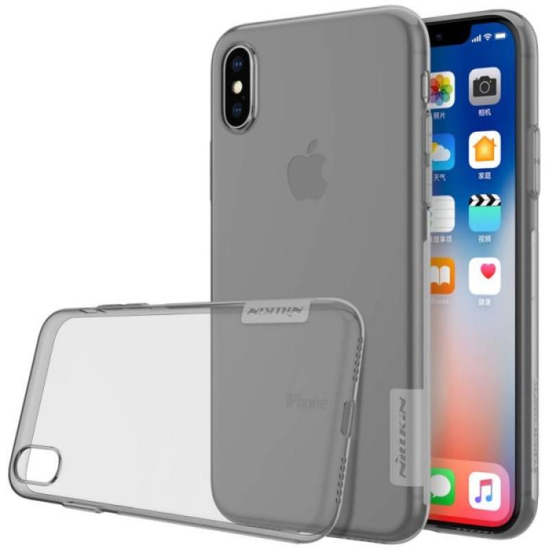 Nillkin Nature TPU Pouzdro Grey pro iPhone X