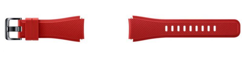 ET-YSU76MRE Samsung Gear S3 Náhradní Pásek Red