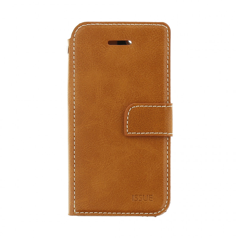 Molan Cano Issue Book Pouzdro pro iPhone X/XS Brown