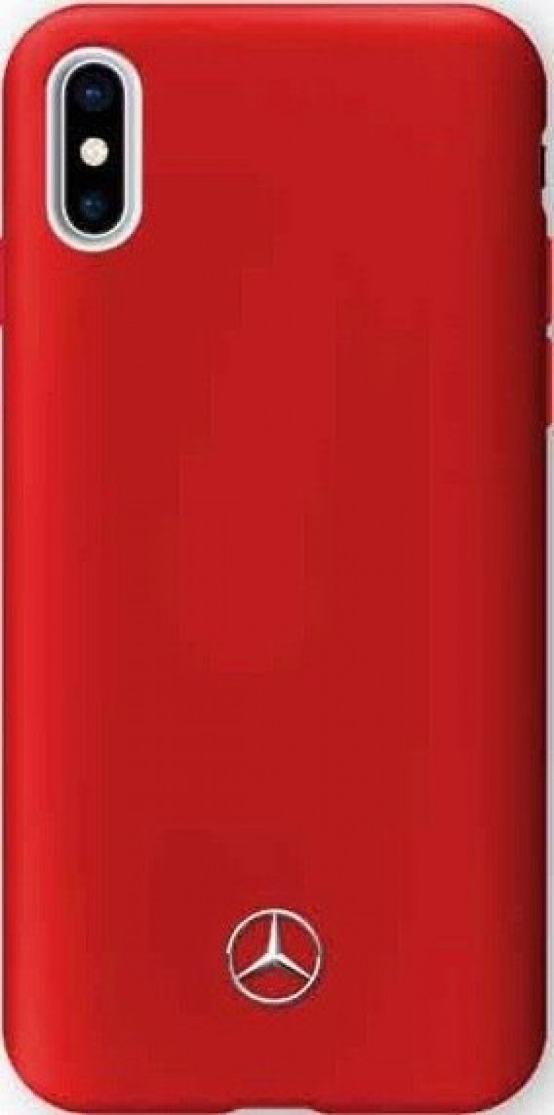 MEHCPXSILRE Mercedes TPU Silicone Case Lining Red pro iPhone X