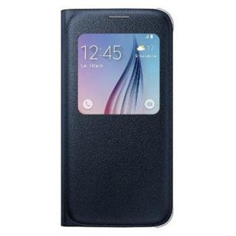 EF-CG920BBE Samsung S-View Pouzdro Black pro G920 Galaxy S6 (Pošk. Blister)