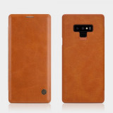 Nillkin Qin Book Pouzdro pro Samsung N960 Galaxy Note 9 Brown