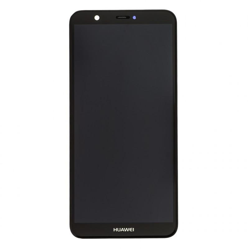 Huawei P Smart LCD Display + Dotyková Deska + Přední Kryt Black ... c85b6fd7512