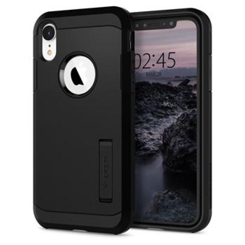 Spigen Tough Armor for iPhone XR Black (EU Blister)