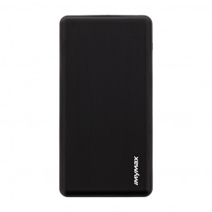 MyMAx MP2 PowerBank QC 3.0 LCD Type C/MicroUSB 10000mAh Black (EU Blister)
