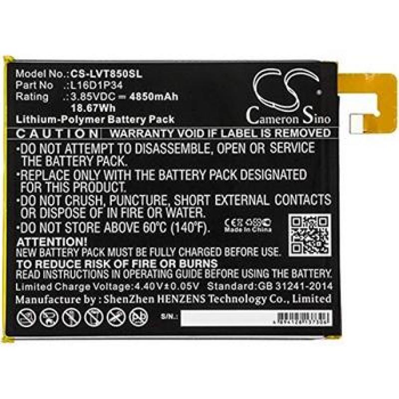 CS-LVT850SL Baterie 4850mAh Li-Pol pro Lenovo Tab 4