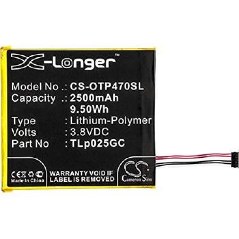 "CS-OTP470SL Baterie 2500mAh Li-Pol pro Alcatel One Touch Pixi 4 7"""