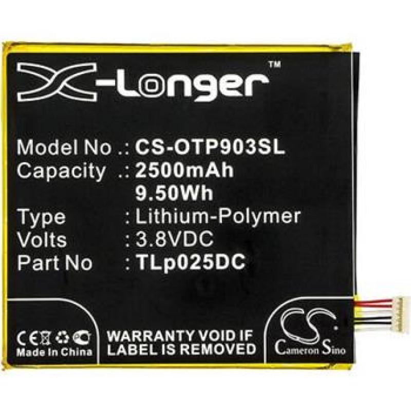 "CS-OTP903SL Baterie 2500mAh Li-Pol pro Alcatel One Touch Pixi 4 6"""