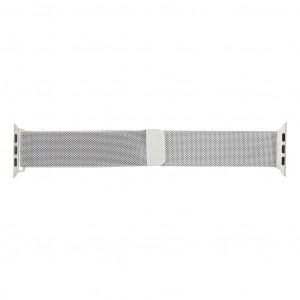 Handodo Loop Magnetický Kovový Pásek pro iWatch 1/2/3 38mm Silver (EU Blister)
