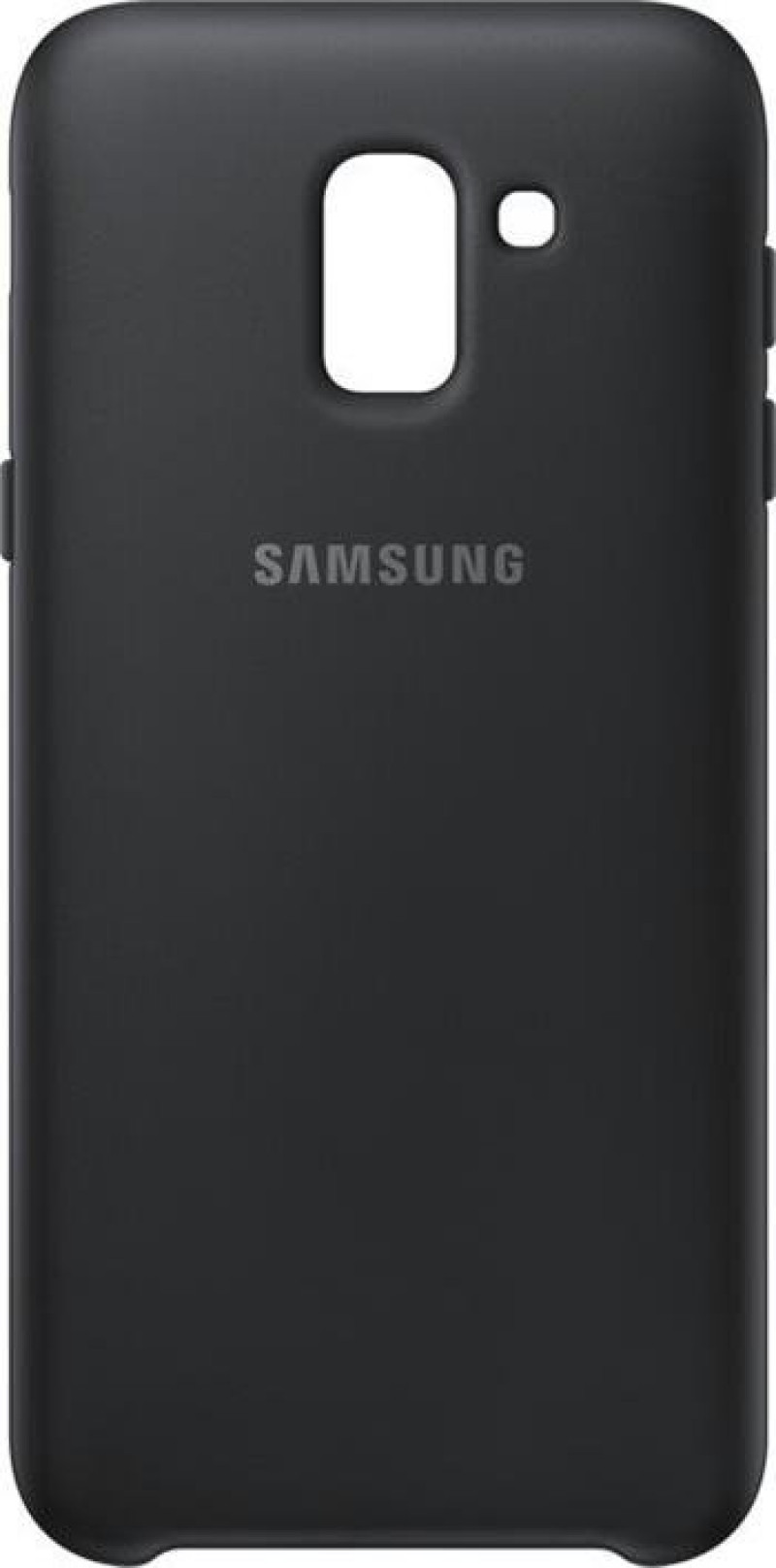 EF-PJ600CBE Samsung Dual Layer Cover Black pro Galaxy J6 2018 (Pošk. Blister)