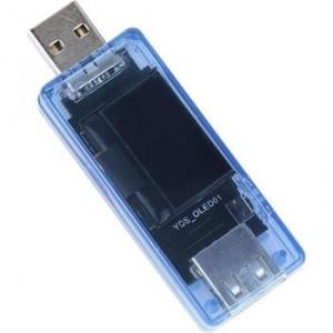Tactical USB Měřič Napětí a Proudu LCD