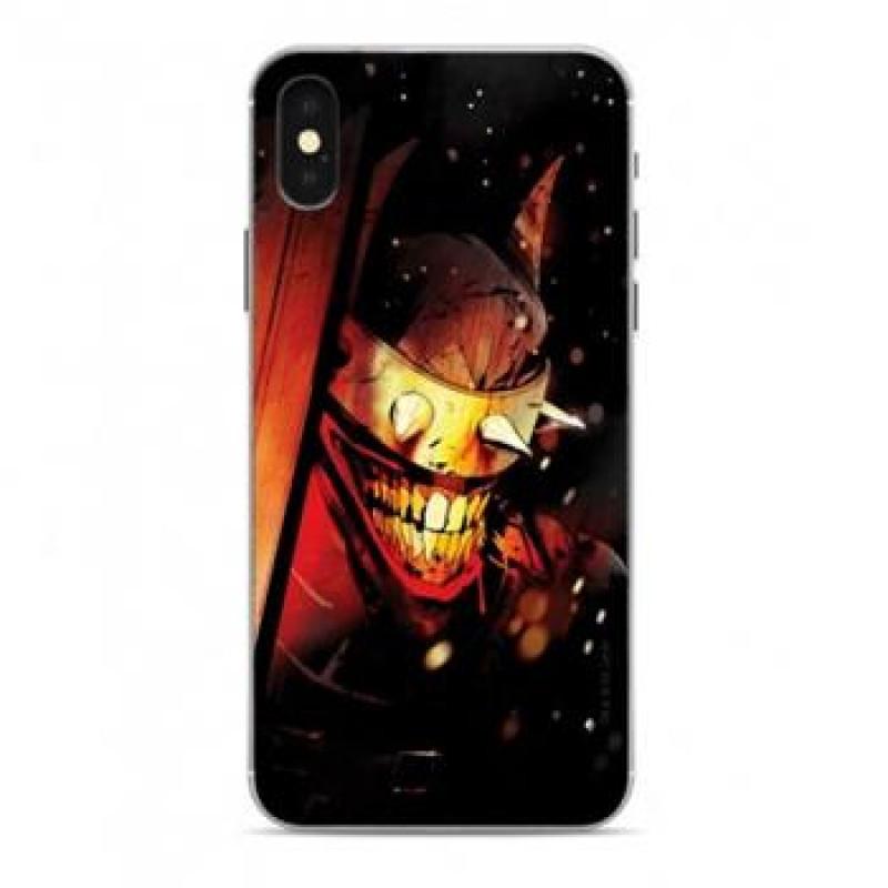 Batman Who Laughs Zadní Kryt 005 Black pro iPhone X/Xs