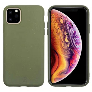 Muvit For Change Bambootek Kryt pro iPhone 11 Pro Max Moss (ECO Blister)