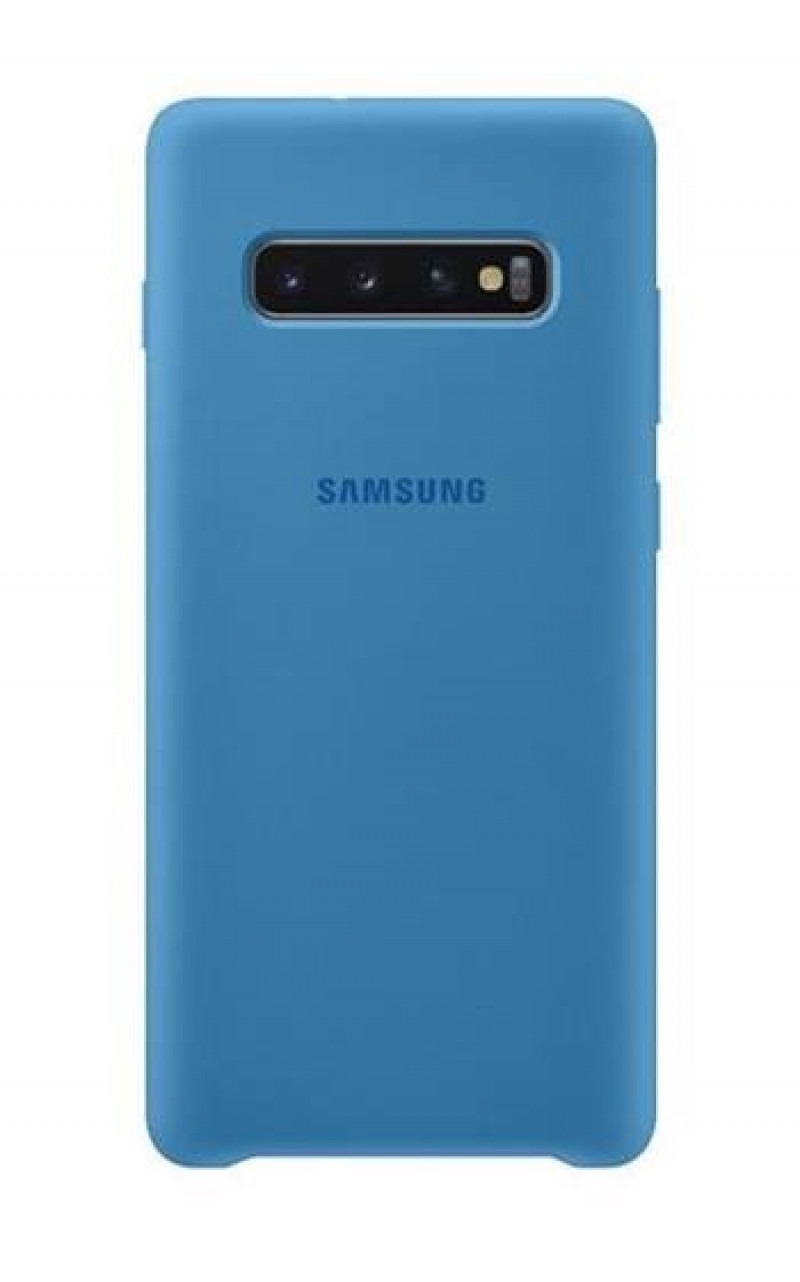 EF-PG970TLE Samsung Silicone Cover Blue pro G970 Galaxy S10 Lite