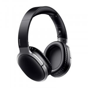 USAMS US-YN001 Bezdrátová Bluetooth Sluchátka s potlačením šumu Black