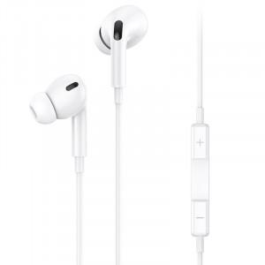 USAMS EP-41 In-Ear Stereo Headset Type-C 1,2m White (EU Blister)